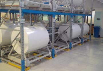 Sistemi a Gravità - Scaffalature Gravità a Rulli - Logima