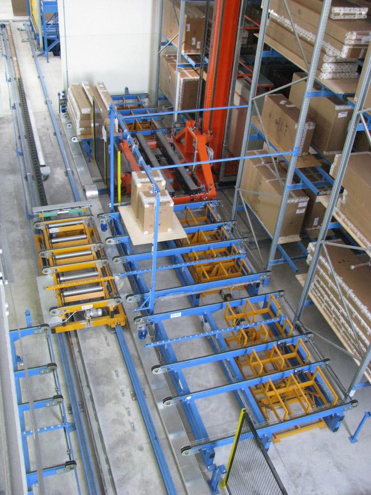 Strutture per magazzini automatici e intralogistica