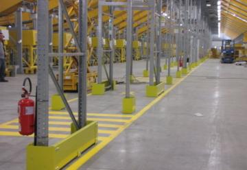 Strutture di Sostegno per Magazzini Industriali - Logima