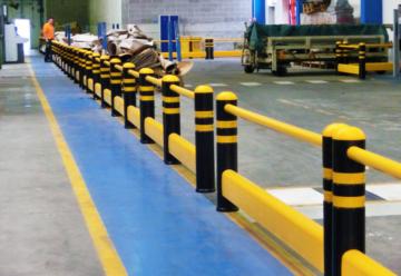 Percorsi Pedonali - Sicurezza Magazzini Industriali - Logima