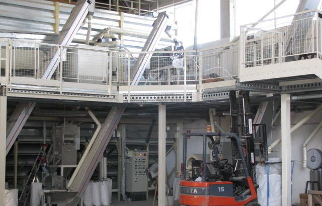 Soppalchi e strutture per impianti industriali